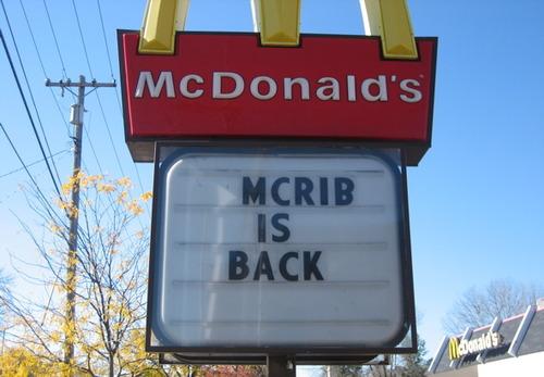 Dan Sellars finds McRibs
