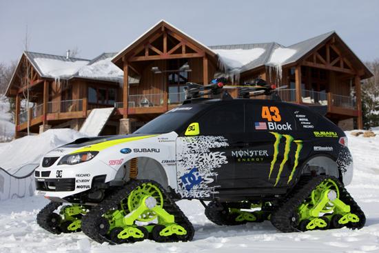 monster mountain truck