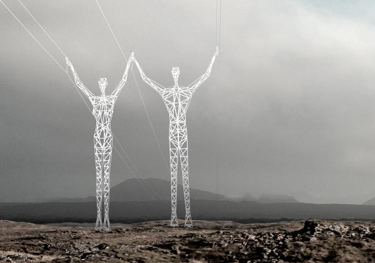 Only small alterations needed to existing pylon design