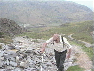 Old Man of Coniston - The Blind Climber