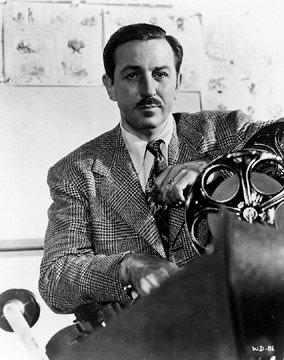 Walt Disney in the 1940's
